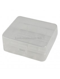 Soshine SBC-015 Plastic Battery Case for 1-2 pcs 26650 Battery - Transparent (1 pc)