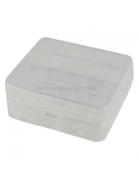 Soshine SBC-015 Plastic Battery Case for 1-2 pcs 26650 Battery - Transparent (1 pc)