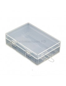 Soshine SBC-021 Plastic Battery Case for 1-4 pcs 26650 Battery - Transparent (1pc)