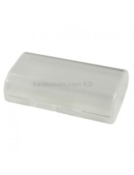 Soshine SBC-008 Plastic Battery Case for 1-2 pcs AA Battery - Transparent (1 pc)