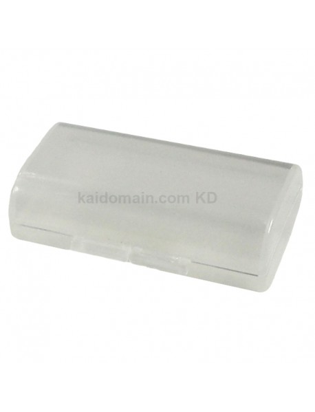 Soshine SBC-002 Plastic Battery Case for 1-2 pcs AAA Battery - Transparent (1 pc)