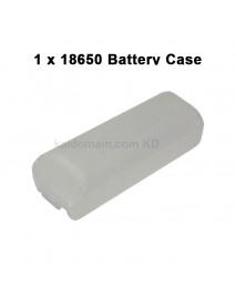 Battery Storage Box for 1 x 18650 - Transparent ( 2 pcs )