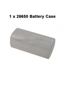 Battery Storage Box for 1 x 26650 - Transparent ( 2 pcs )