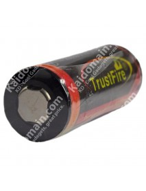 TrustFire 26650 3.7V 5000mAh Rechargeable Li-ion 26650 Battery with PCB (1 piece)