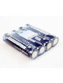TrustFire TF 10440 3.7V 600mAh Li-ion Rechargeable Battery With PCB (4 pcs)