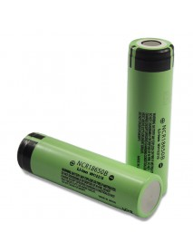 Unprotected NCR18650B 3.7V 3400mAh Rechargeable Li-ion 18650 Battery