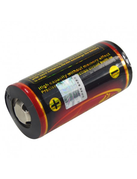 TrustFire 32650 3.7V 6000mAh Rechargeable Li-ion 32650 Battery With PCB (1 pcs)
