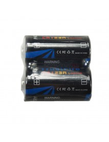 TrustFire CR123A 3V Lithium Battery - 1 Pair