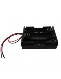4.5V 3 x AA Battery Holder Case with 16cm Leads