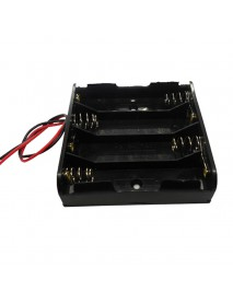 6V 4 x AA Battery Holder Case with 16cm Leads