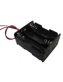 9V 6 x AA Battery Holder Case with 16cm Leads