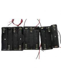 1 x AAA Battery Holder Case with Leads