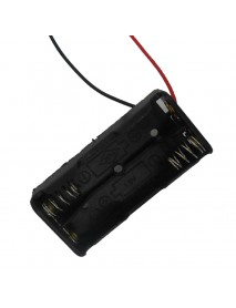 2 x AAA Battery Holder Case with Leads