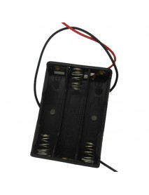 3 x AAA Battery Holder Case with Leads