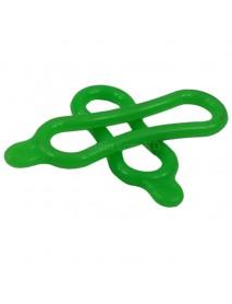 Silicone Elastic O-Ring for Bike Light - Green (1 set)