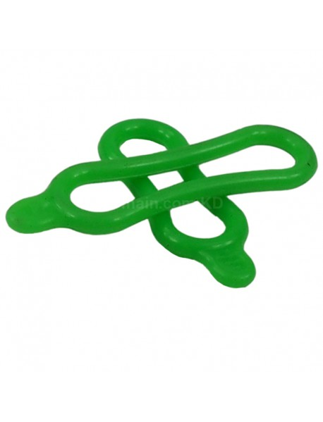 Silicone Elastic O-Ring for Bike Light - Green (1 set)