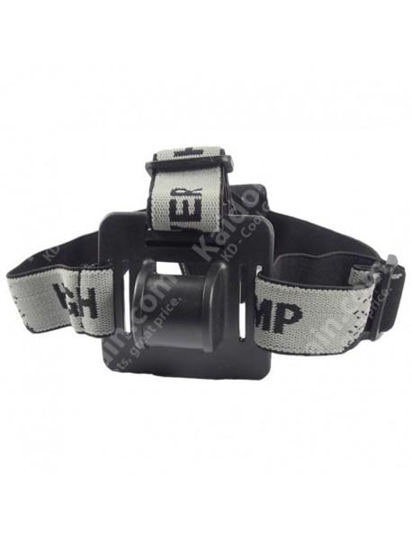 Adjustable Elastic Nylon Head Strap for Bike Light / HeadLamp ( 25cm )