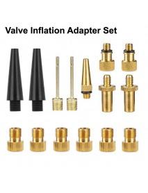 Valve Inflation Adapter Set for Bike Pump (1 set)