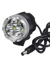 3 x Cree XM-L T6 3-Mode Bicycle Light with Battery Set and Charger