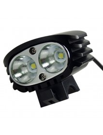 KD 2 x Cree XM-L2 U2 4-Mode 2200 Lumens Bicycle Light