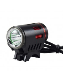 Cree XM-L2 U2 LED 4-Mode 1100 Lumens Bike Light (Battery Pack not included) - Black
