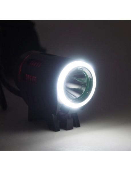 Cree XM-L2 U2 LED 4-Mode 1100 Lumens Bike Light (Battery Pack not included) - Black