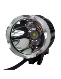 Cree XM-L2 U2 LED 3-Mode 1100 Lumens USB Bike Light (Battery Pack not included)