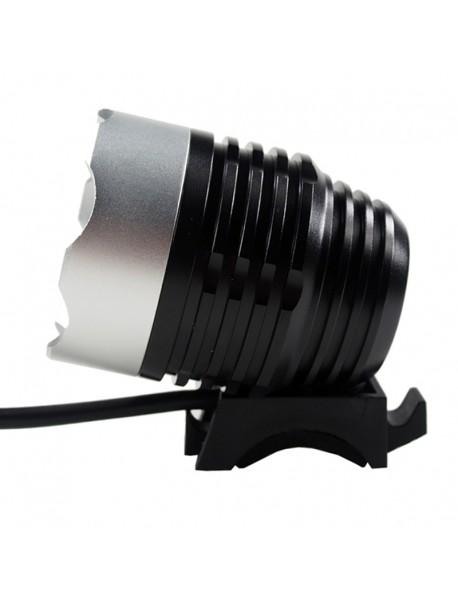 Cree XM-L2 U2 LED 3-Mode 1100 Lumens USB Bike Light (Battery Pack not included)