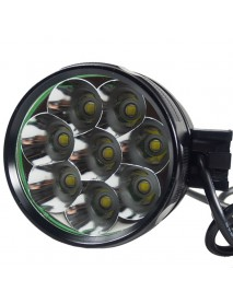 8 x Cree XM-L T6 LED 5-Mode 7500 Lumens Bike Light (Battery Pack not Included)
