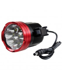 9 x Cree XM-L T6 LED 5-Mode 8500 Lumens Bike Light (Battery Pack not Included)