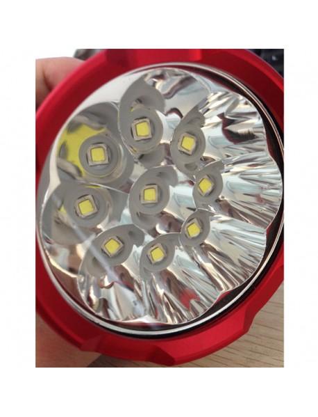 9 x Cree XM-L2 U2 LED 5-Mode 9000 Lumens Bike Light (Battery Pack not Included)