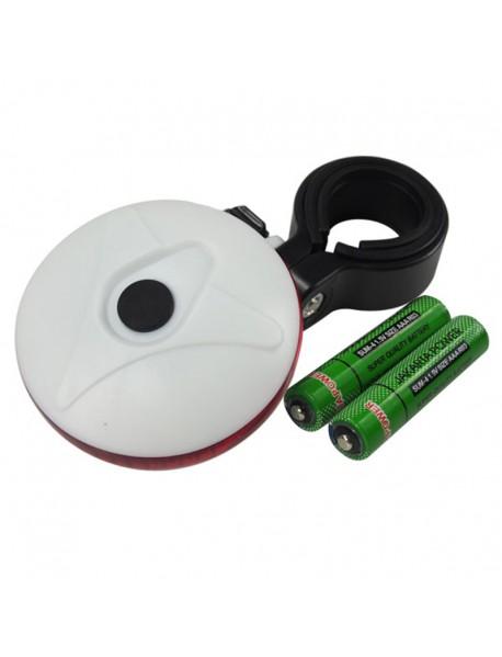 XJ-2222A 3-Mode Safety Rear Light (2 x AAA)
