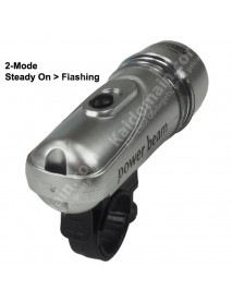 FY-102 5 x White LED 2-Mode Bike Light( 4xAAA )