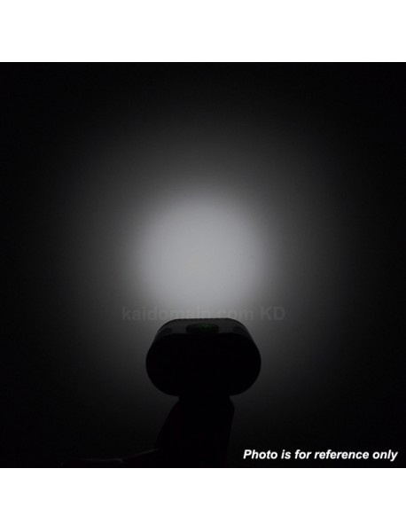 BL2s 2 x Cree XM-L2 U3  2 Groups of 2 to 3-Mode 2200 Lumens Bike Light - Black (Battery not included)