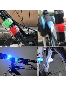 2 x LED Light 3-Mode Bike Tail Light  (1 pc)
