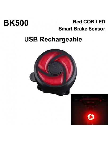 BK500 Smart Bike Brake Sensor Tail Light (1 pc)