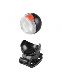 RPL-2270 White And Red LED 120 Lumens 4-Mode USB Rechargeable Bike Light (1 pc)