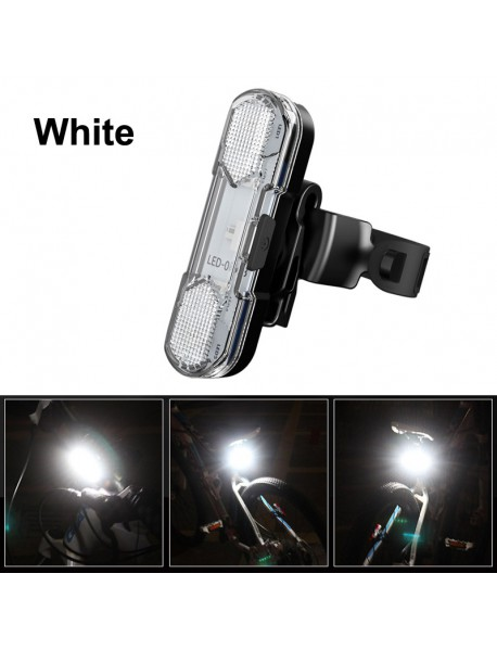AS1010 5 x LED 4-Mode USB Rechargeable Bike Tail Light (1 pc)