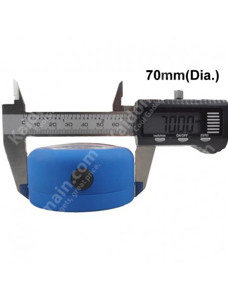 13000 MCD 24-LED White LED Round Camping Lantern - Blue (3 x AAA)