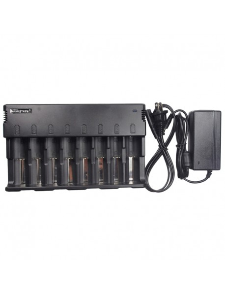 Enedepots A10 Inetelligent Universal Battery Charger for Li-ion / Ni-MH / Ni-Cd Batteries - Black ( 1 pc )