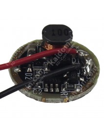 A9 Buck Current Regulated 3.0V~8.4V 1.3A Flashlight PCB