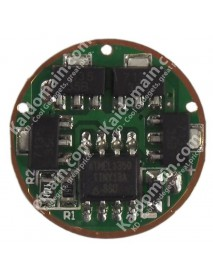 AMC7135*8+MCU 2800mAh 5-Mode Circuit Board