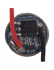 LD-25 17mm 3.0V - 4.5V 2.8A 2 Group of 3 Mode and 5 Mode Driver Circuit Board for Cree XM-L (1 pc)