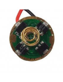 CF FX-12 17mm 3V - 4.5V AMC7135  2 Groups of 3 - 5 Modes Driver Circuit Board ( 1 pc )