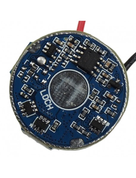 LD-51 28mm 1.5A 2 Cells Boost Driver Circuit Board for Cree XHP35 (1 pc)