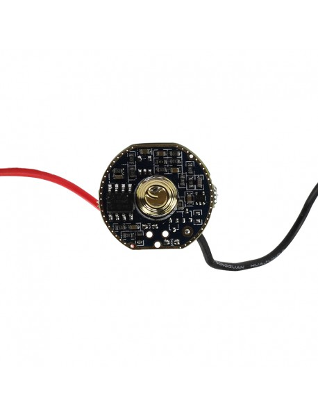 LD-33S 22mm 4.8A 2-cell 2 Group of 3 Mode and 5 Mode Driver Circuit Board for Cree XHP70 (1 pc)