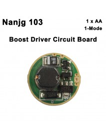 Nanjg 103 17mm 1.5V 1-Mode Boost Driver Circuit Board (1 pc)