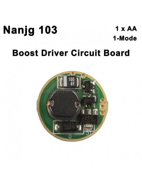 Nanjg 103 17mm 1.5V 1-Mode Boost Driver Circuit Board (1 pc)