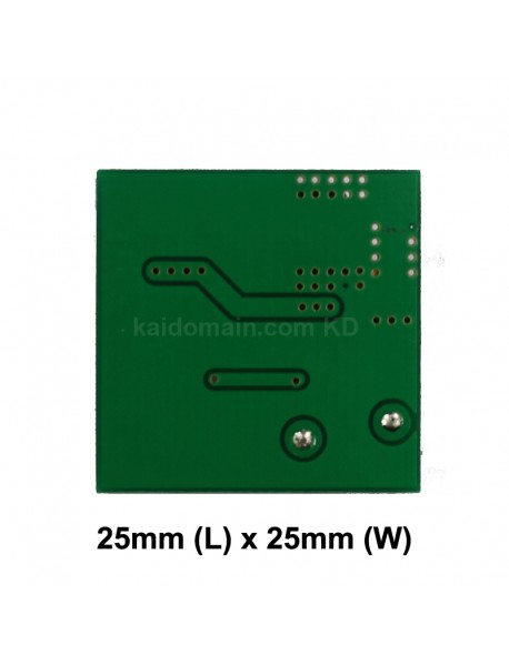 FX-3xT6 25mm 2.5A 5.5V - 16V 1-Mode Buck Driver Circuit Board for 1 to 3 LEDs (1 pc)