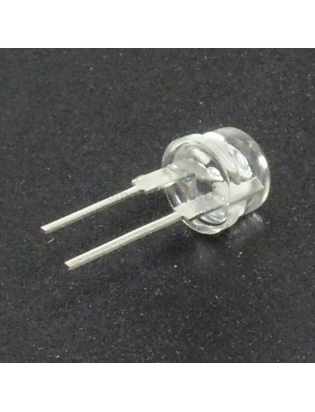 F8mm 3V - 3.2V 0.5W Round Head LED Diodes (10 pcs)